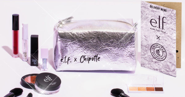 e.l.f.'s Chipotle Collaboration and New CBD Line Fend Off Pandemic Blues