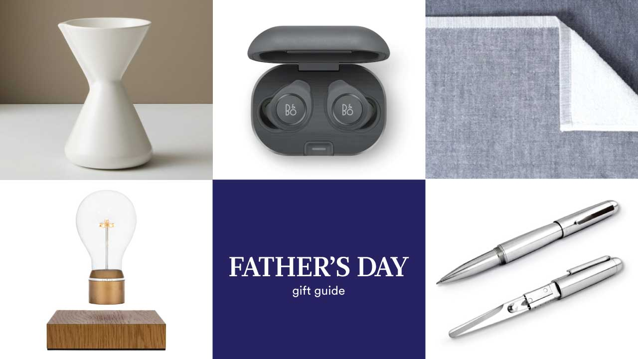 Style Milk's 2020 Daddy's Day Present Guide